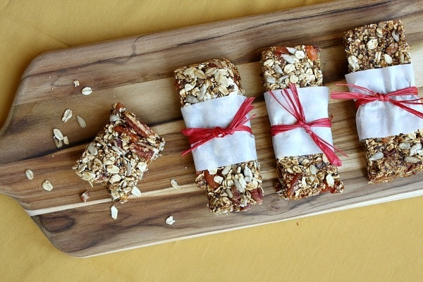 Granola Bars with Prunes baking-sweets-treats