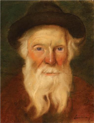 Jewish Man - Stefan Luchian (Romanian: 1868-1917)