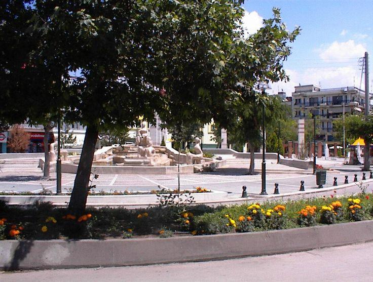 Κεντρική πλατεία Πτολεμαΐδας ...Ptolemaida