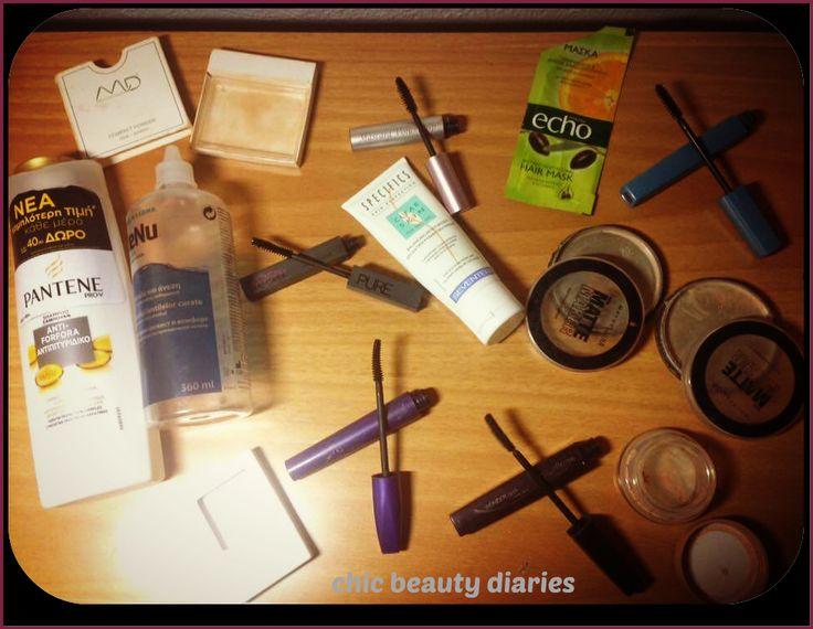 #chicbeautydiarie #empties