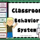 Classroom behavior plan~ calendars, class chart, parent notes~ perfect for fresh, new start to the new year!