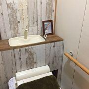 Bathroom/DIY/トイレ改造計画/タンクレス DIYのインテリア実例 - 2014-05-02 15:20:22