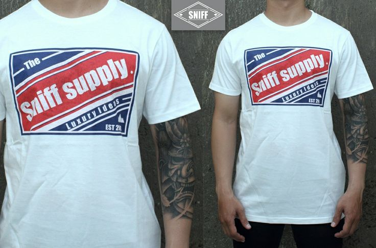"SNIFF graphic tees ""THE LUXURY IDEAS"" For order SMS/WA : +628814016624 