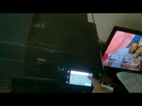 HP 8620 WIFI SETUP - YouTube