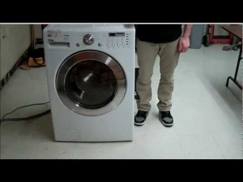 ▶ How to Fix an LG Front load washer machine that wont spin - YouTube