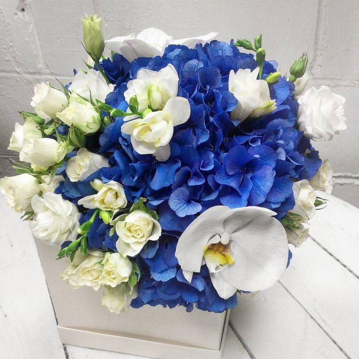 Бело- синий букет невесты #floristicaminsk #florist #флористикаминск #букетневесты #свадебныйбукет #цветыминск #цветы #свадьба #цветыневесте #любовь