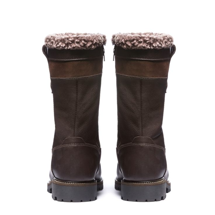Harfang Mens Winter Cold-Weather Boots - Mens leather boots - Mens brown leather boots - Mens brown boots - Mens waterproof boots - Handmade wool lined fur trim boots. Anfibio Boots® waterproof handcrafted winter boots are made in Montreal, Canada. Luxurious craftsmanship guarantees long-lasting comfort. Anfibio's handmade winter walking boots are warm and durable. Shop men's winter boots, men's snow boots, men's boots, men's cold weather boots, men's winter fashion…