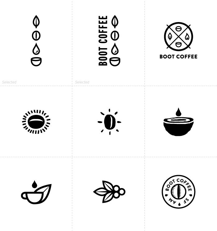 coffee logos, repinned by BroCoLoco.com