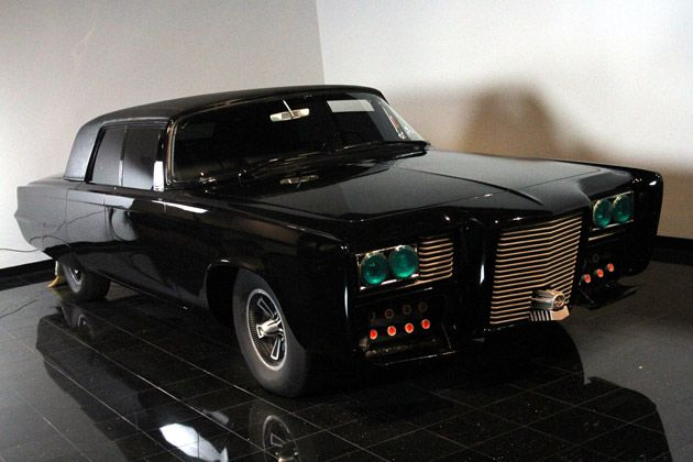 Green Hornet (the original TV show)- Black Beauty- customized 1966 Chrysler Imperial Crown