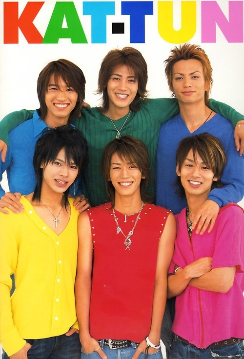 Old pix of Jin with Kat-tun! :D So nostalgic and sad.