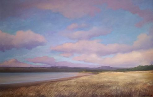 "'Murvagh' oil on panel 35"" x 22"" Morgan Ferriter 2017 http://bit.ly/29a6rK7 Painted on location at Murvagh, Donegal, Ireland #art #paintings #Donegal #ireland #WildAtlanticWay www.morganferriter.com"