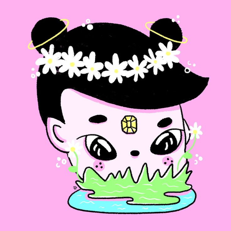 ✧ N A U T A ✧ #nauta #nauta1992 #adobe #photoshop #wacom #illustration #ilustración #dibujo #fluor #pastel #color #cosmos #space #galaxy #universe #harajuku #girl #diamond #saturn #plants #water