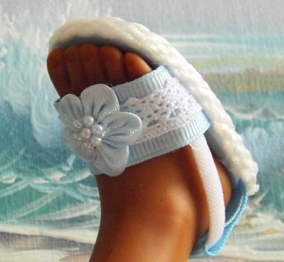 Hearts 4 Hearts Corolle Les Cheries Sandals by sewgrandmacathy, $6.00