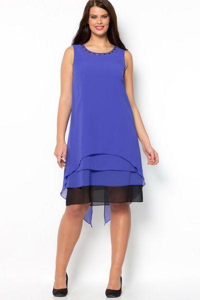 Коктейльные платья для полных 2014