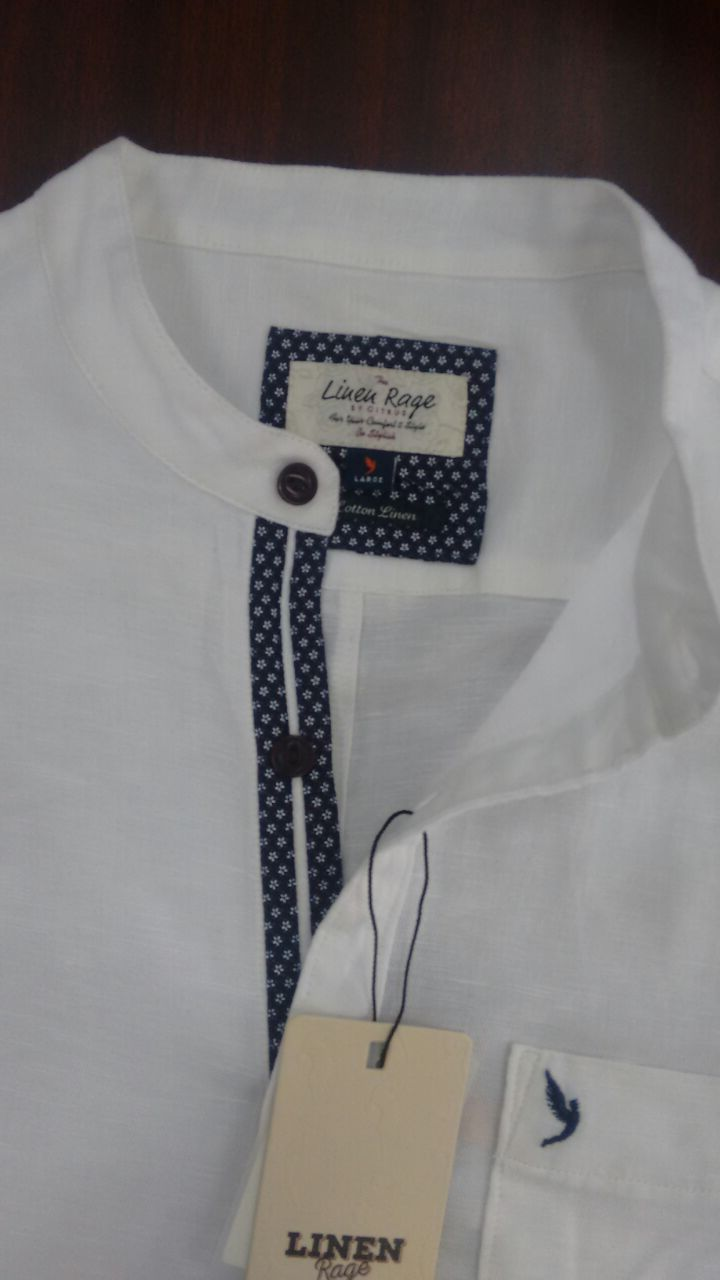 Men's shirt detailing.casual.Linen                                                                                                                                                                                 More