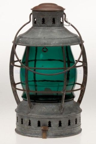 Industrial lantern // Storm lantern // Rustic //