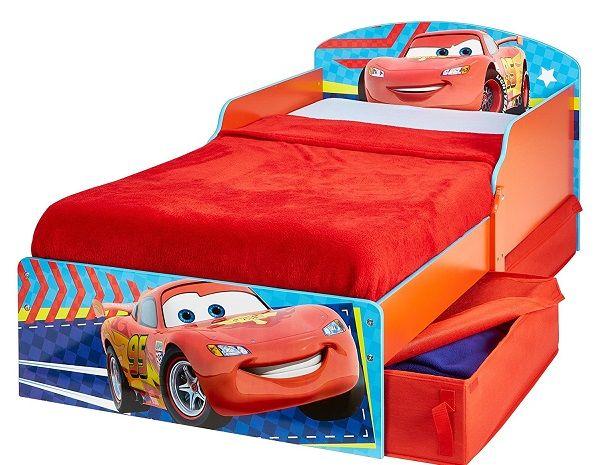 CAMA DE MADERA PARA NIÑO - CAMAS DE CARS, IndalChess.com Tienda de juguetes online y juegos de jardin