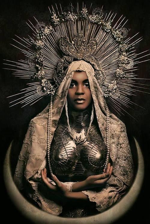 intricate costume design (Madonna series) by Katarzyna Konieczka