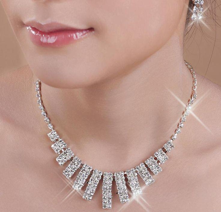 Scintillant Wedding Diamond Necklace