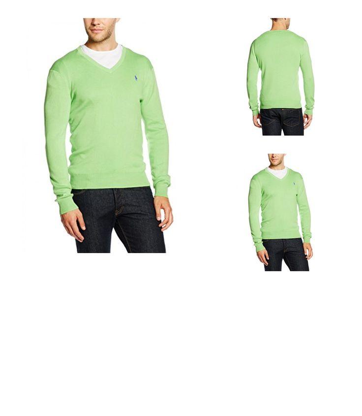 3611588903125 | #Polo #Ralph #Lauren #Herren #Sweatshirt #LS #SF #VN #PP, #Grün #(A3CHA), #X-Small