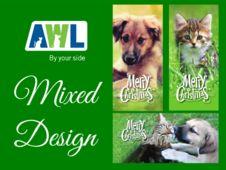 Animal Welfare League - Christmas cards