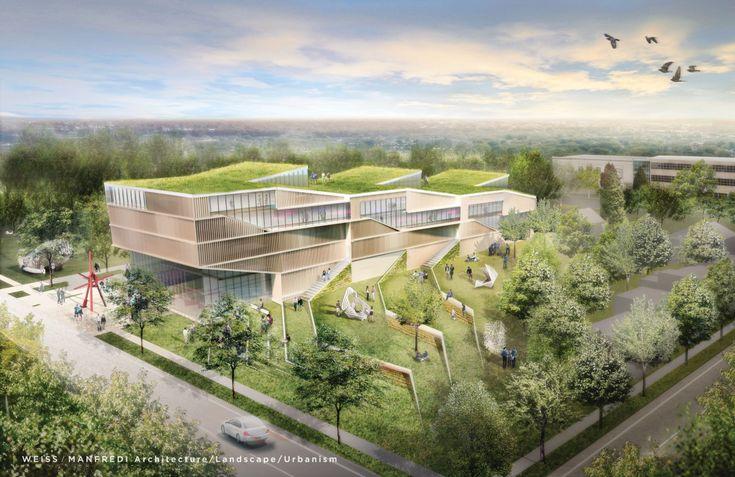 Courtesy WEISS/MANFREDI Architecture/Landscape/Urbanism proposal, Kent State University