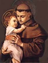 St. Anthony, St. Anthony, please come around. Something is lost and cannot be found.