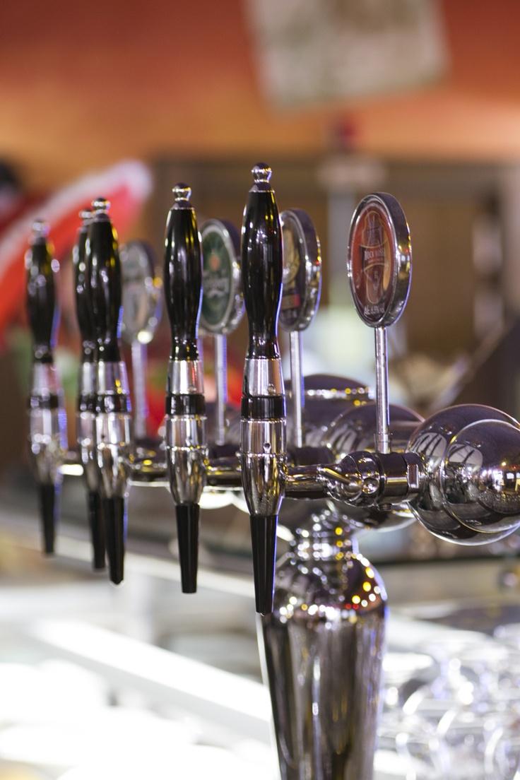 La selezione di birre a La Taverna del West: i n alto i boccali!