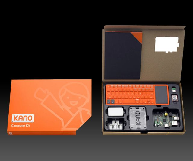 Kano - Simple DIY Computer... I WANT THIS SO BAD!! Great cheap computer that I can build myself and use to perfect my coding skills while sitting on the couch with the love of life.