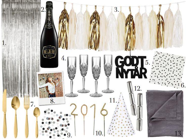 Pin af Christina Bonke på Happy New Year | New Years Eve ...