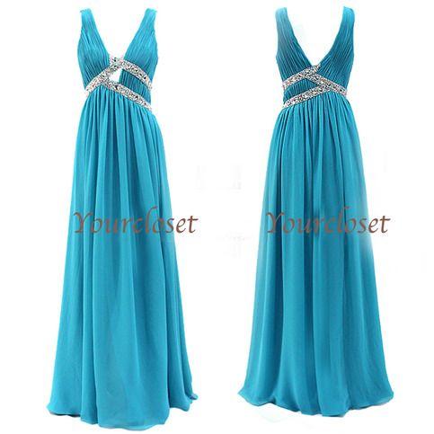 Elegant floor-length prom dress / evening dresses from Your Closet #coniefox #2016prom