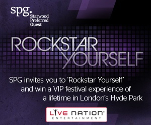 SPG invites you to 'Rockstar Yourself' and be in with a chance of winning a prize for you and five friends to travel to London's Hyde Park this summer to see some of the biggest names in music! http://www.spg.com/rockstaryourself