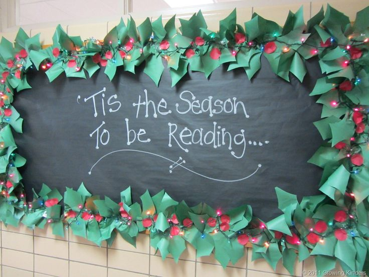 winter bulletin board!...could write anything... LOVE this!! :)