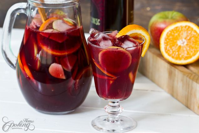 Quick, easy recipe for a traditional red wine Sangria perfect for moments of respite. Sangria is the kind of drink perfect for parties and family gatherings.