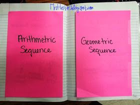 Geometric & Arithmetic Sequences Download using Box
