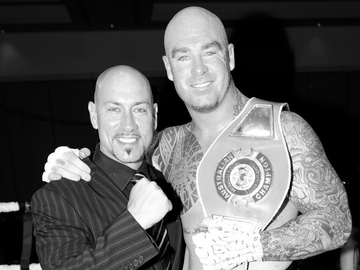 Australian Heavyweight Boxing Champion - 'Big Daddy' Lucas Browne. Not as mean as he looks!