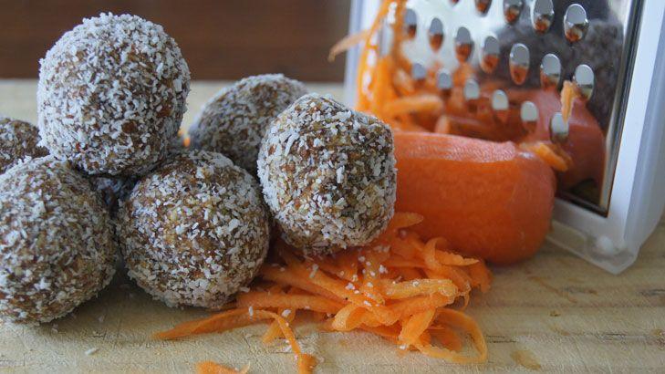 No bake carrot cake balls - easy to make and taste super delicious