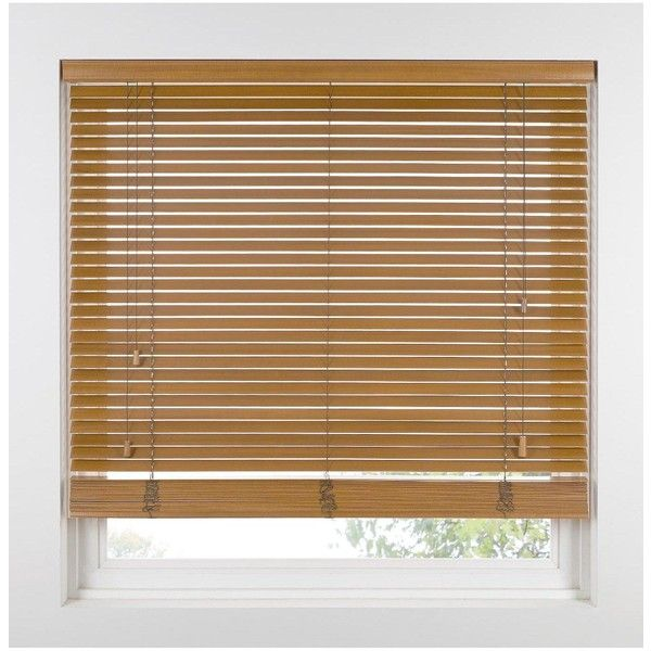 Made To Measure 35 Mm Wooden Venetian Blinds ($41) ❤ liked on Polyvore featuring home, home decor, window treatments, window blinds, outside window blinds, wooden window shades, wood window shades and wood window blinds