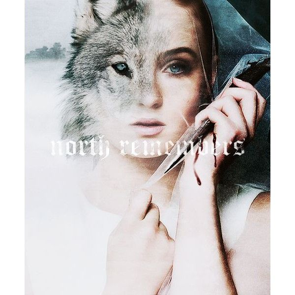 Tumblr ❤ liked on Polyvore featuring game of thrones, got, people and sansa stark