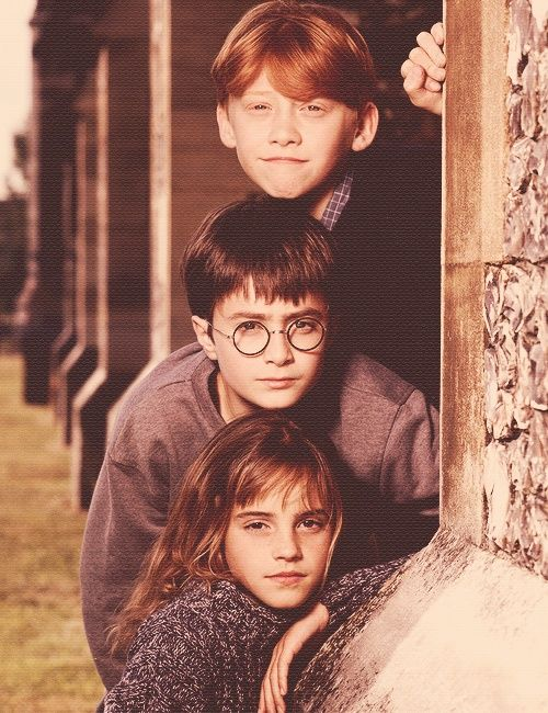 "It's like the photographer told them to look serious, and Emma and Daniel did that, but Rupert took too long going ""I've got this guys."""