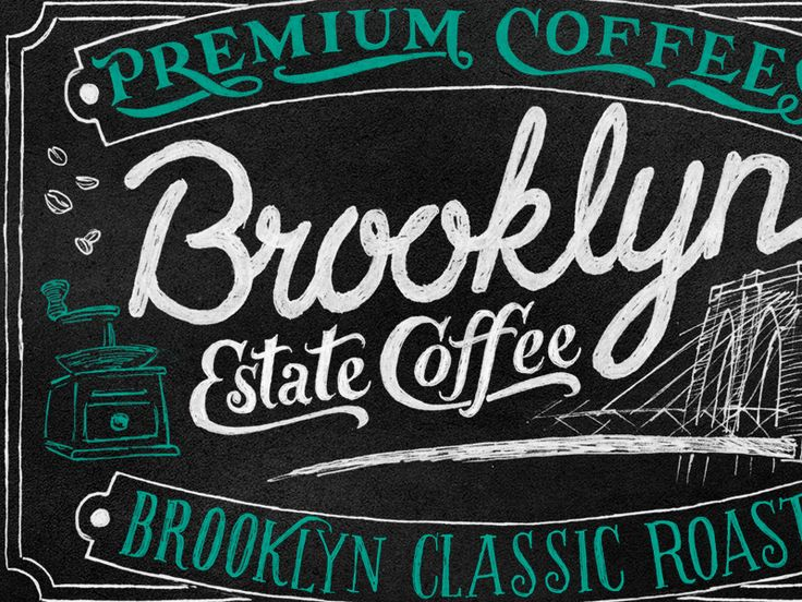 Coffee #design #typography #calligraphy #lettering #font