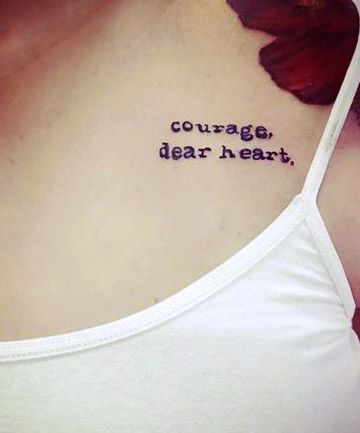 Get your nose out of your favorite novel long enough to peep this inspired ink