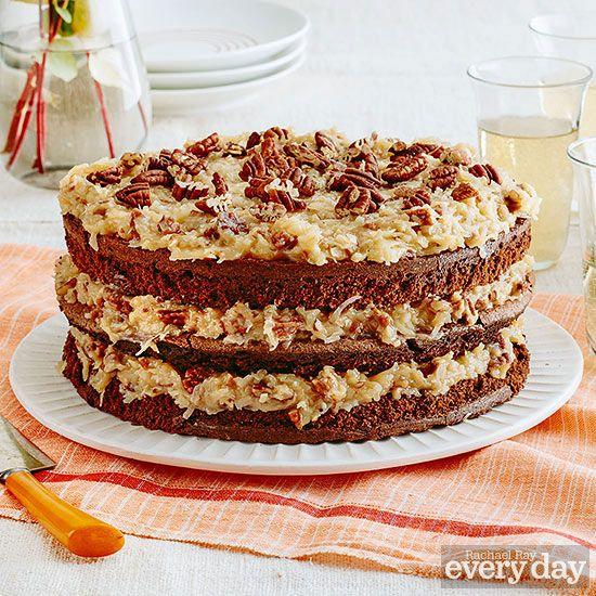 Michael Strahan German Chocolate Cake