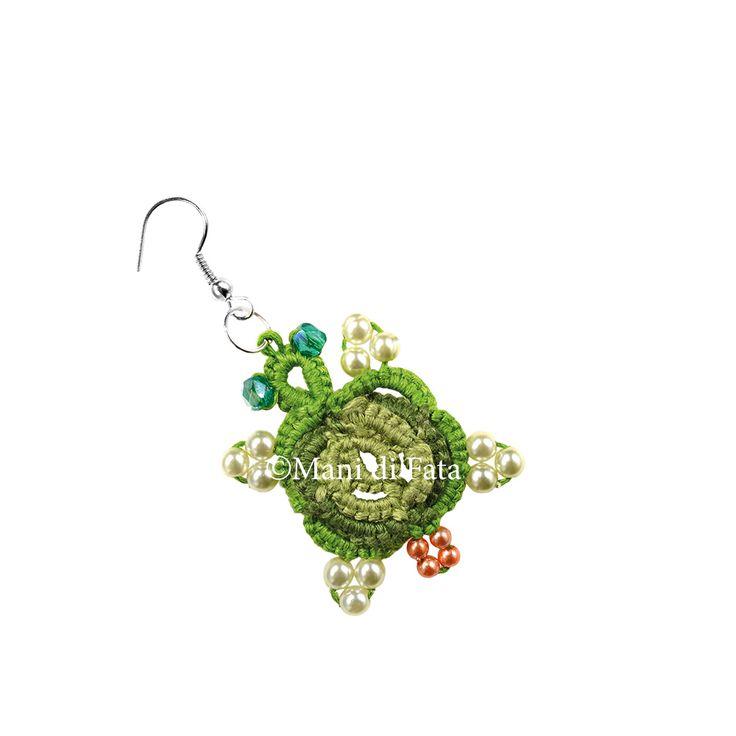 Orecchini tartaruga http://www.manidifata.it/gioielli-crea-il-tuo-bijoux-c8gio-html.html