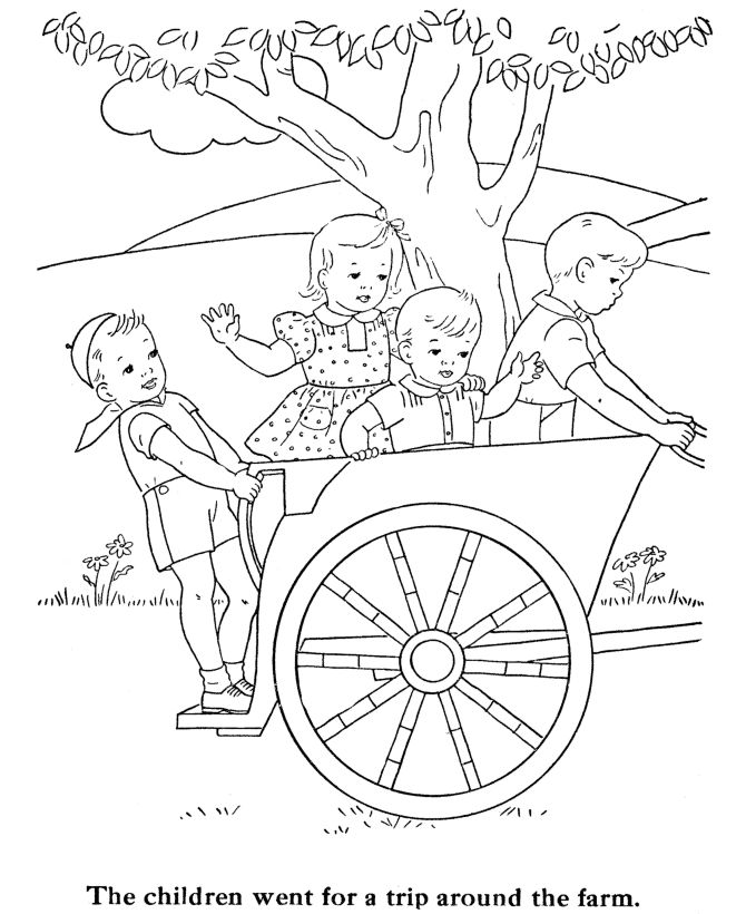 kids coloring pages for children - Coloring Printables For Kids
