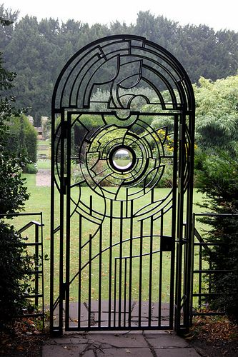 Clare College Garden Gate, Cambridge so nice!