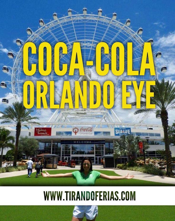A Coca-Cola Orlando Eye é a roda de observação mais alta da costa leste dos Estados Unidos. Possui cerca de 122 metros de altura e 30 cápsulas transparentes, que permitem uma visão de 360º de Orlando e arredores. Está localizada no complexo I-Drive 360, ao lado do Museu de Cera Madame Tussauds e do SEA LIFE Aquarium.