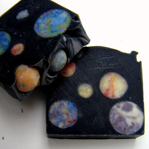 Outer Space Artisan Soap / Cold Process Soap / by SoapForYourSoul