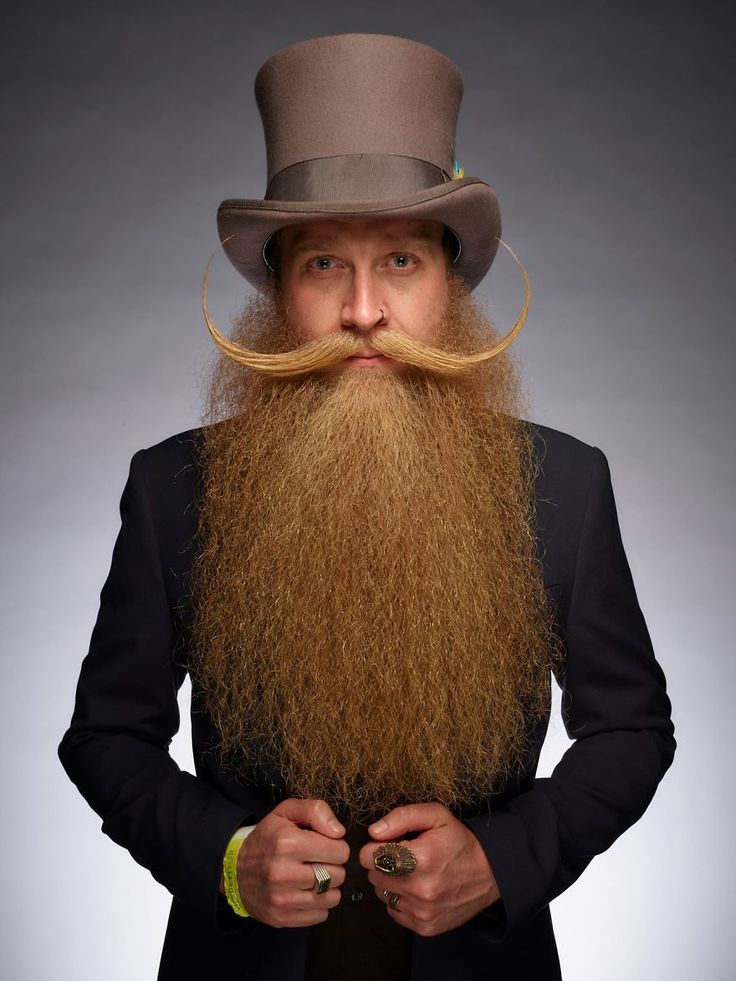 Of The Best Beards From 2017 World Beard And Mustache Championship
