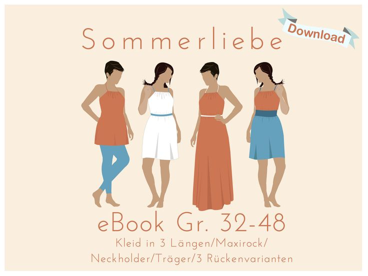 eBook Kleid / Maxirock Sommerliebe